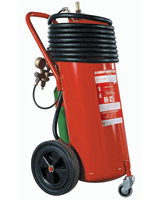 Wheeled_Extinguisher, Wheeled Units Foam